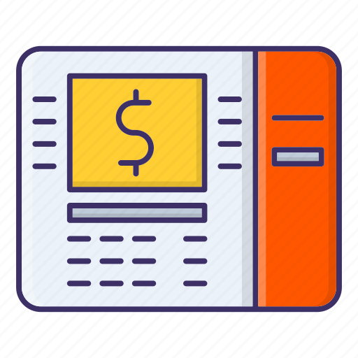 atm, money, payment, transaction icon