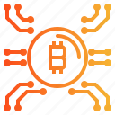 banking, bitcoin, finance, money icon