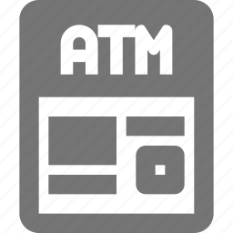 atm, banking, business, cash, finance, machine, withdraw icon