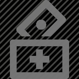 banking, donation, money icon