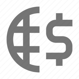 banking, business, dollar, finance, global, international, money, payment icon