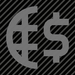 banking, international banking, money icon
