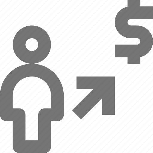 arrow, banking, business, dollar, finance, money, payment, purchase icon
