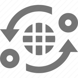 banking, international banking, refresh, reload, sync icon