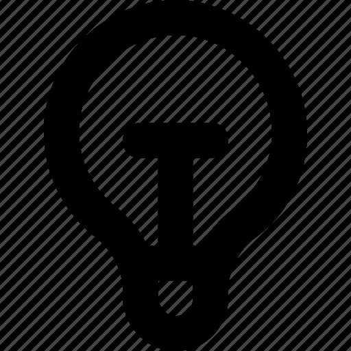 bulb, creativity, idea, innovation, invention icon