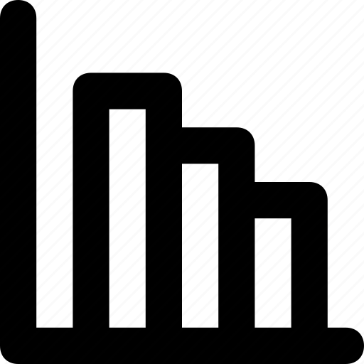bar chart, bar graph, bars, progress, statistics icon
