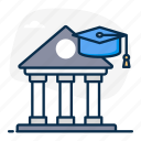 banking, banking education, banking skills, business education, education, financial education, financial learning icon