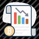 bitcoin, bitcoin chart, data analytics, infographic, loss, recession, statistics