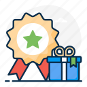 prize, gift, revenue, rewards, bonus points icon