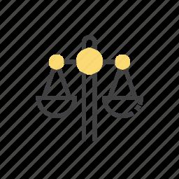 balance, business, finance, marketing icon