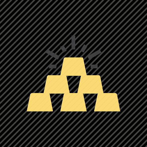 care, gold, wealth icon