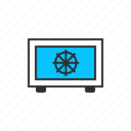 finance, monitor, screen, update icon
