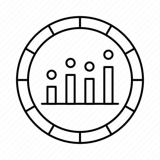 bar, data, diagram, finance, infographic, pie chart, pie graph icon