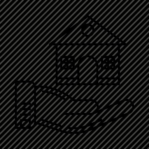 care, home, house, loan house, safe icon