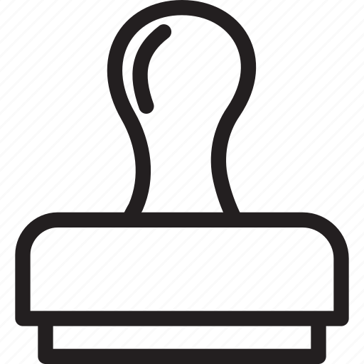 business, finance, morden, pproval, stamp icon