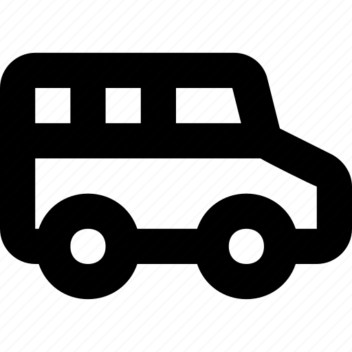 commercial, delivery van, shipping, van, vehicle icon