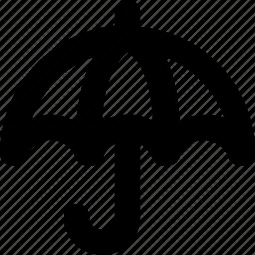 banking, finance, insurance, money, umbrella icon