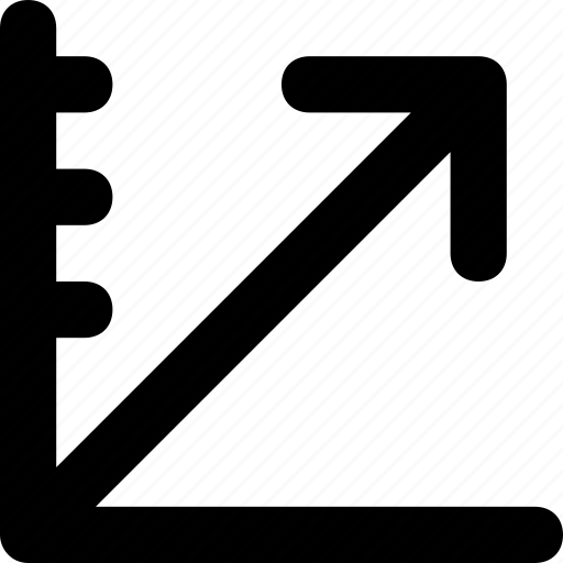 arrow, exchange, growth, share, up arrow icon