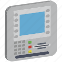 atm, atm machine, automated teller machine, cash line, cash machine, cdm machine icon