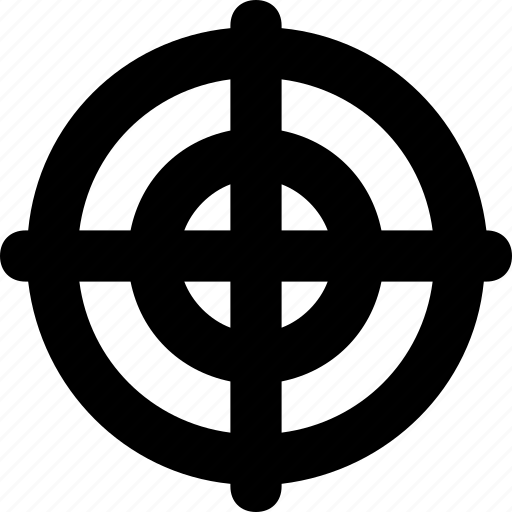 aim, dart, dartboard, hit, target icon