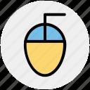 click, computer, cursor, mouse, pointer, scroll icon