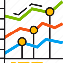 business, chart, grow, market, money, statistics, stock icon