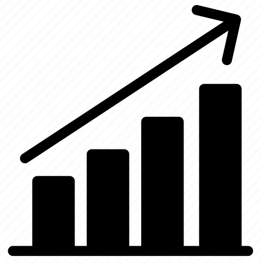 analytic, chart, graph, growth icon