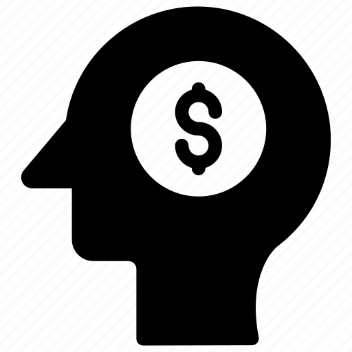 brain, head, mind, thoughts icon
