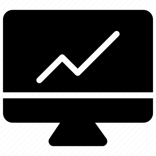 chart, display, graph, growth icon