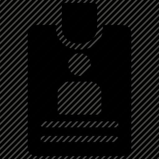 card, empolyee, id, identity icon