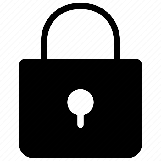 lock, padlock, private, security icon