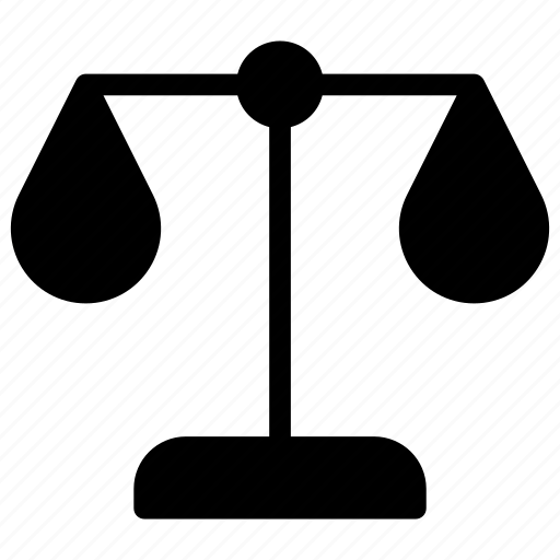 justice, law, scale, weight icon