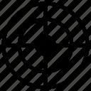aim, darts, goal, target icon