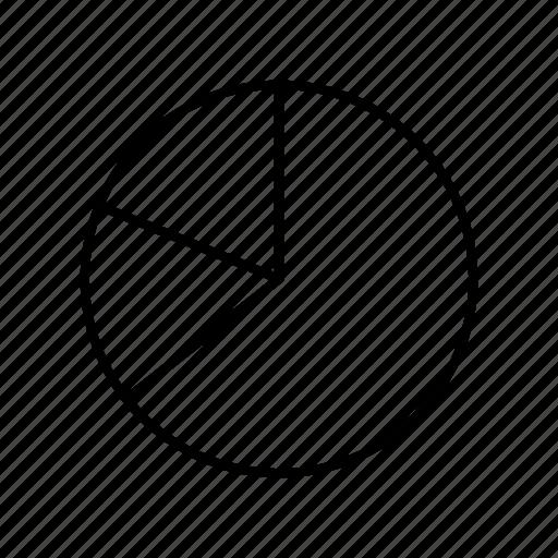 circular chart, graph, infographic, pie chart, statistics icon