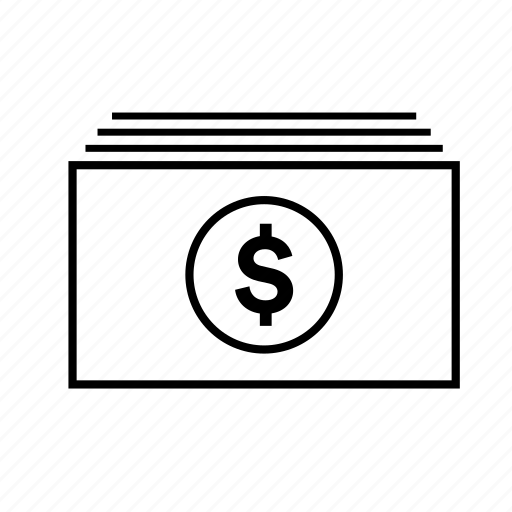 Bill, dollar stack, money, paper, wallet icon - Download on Iconfinder