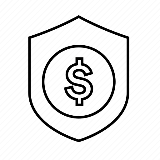 Business protection, money protection, protection, shield, safe, secure, security icon - Download on Iconfinder