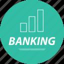 analytics, banking, seo, web icon