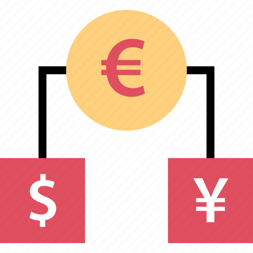 connect, connection, currency, euro icon