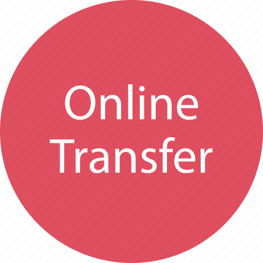 money, online, transfer icon