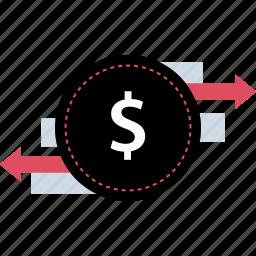 currency, international, money, transfer icon