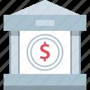 banking, dollar, online, web icon