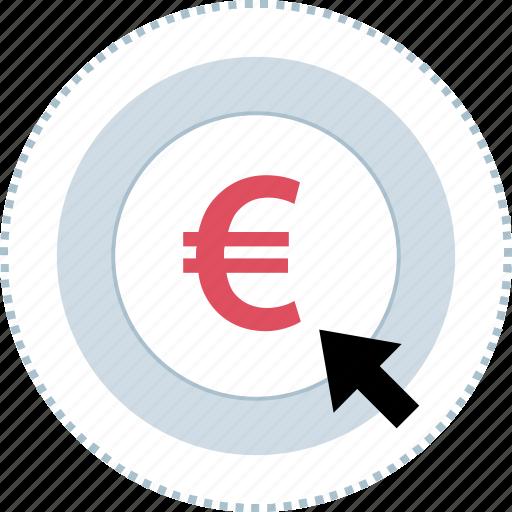 click, euro, sign, uk icon