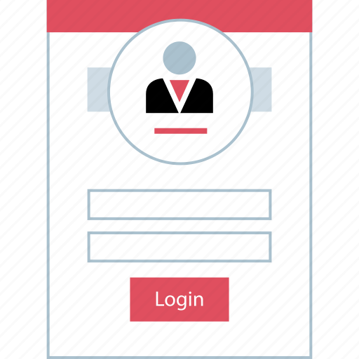 form, login, person, user icon