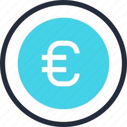 business, coin, currency, euro, finance, money, savings icon