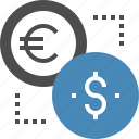 coin, currency, dollar, euro, exchange, finance, money