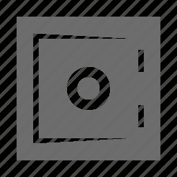 bank, banking, deposit, safe icon