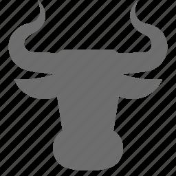 bulls, finance, forex, trade icon