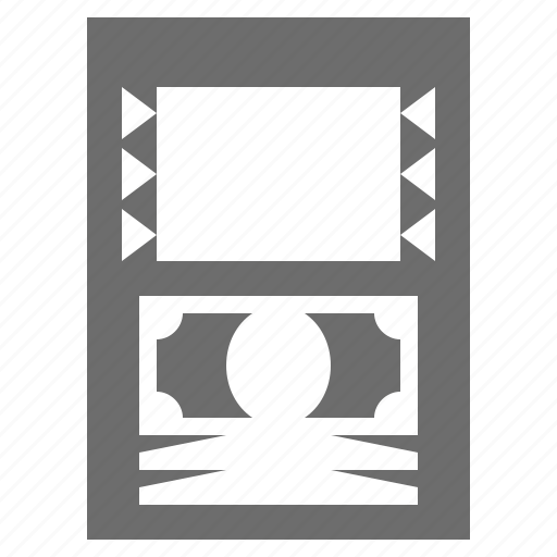 atm, bank, cash, machine, money icon
