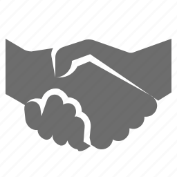 business, deal, hand, shake icon