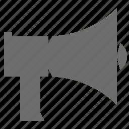 information, media, megaphone, news icon